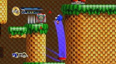 Скриншоты игры Sonic the Hedgehog 4