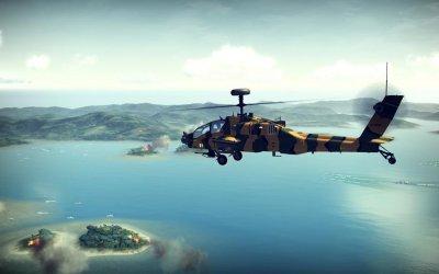 Анонс вертолетного симулятора Apache: Air Assault