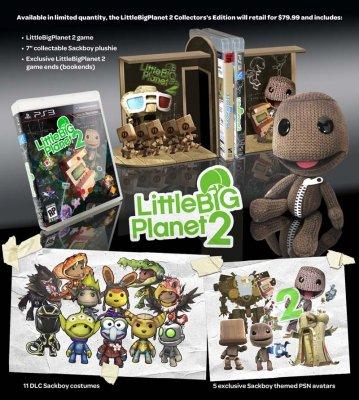 Дата выхода LittleBigPlanet 2 + видео и коллекционное издание