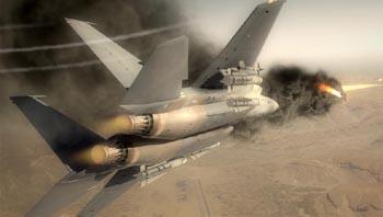 Видео из демо Tom Clancy's H.A.W.X. 2