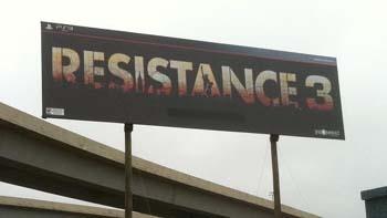 Анонсирована Resistance 3