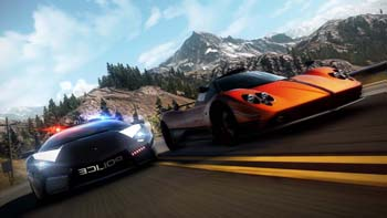 Геймплей из демо-версии Need for Speed: Hot Pursuit
