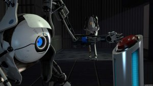 Скриншоты и видео геймплея кооператива Portal 2