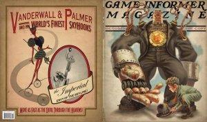 Красивые обложки Game Informer, посвященные BioShock: Infinite