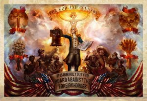 Пропагандистские постеры из BioShock: Infinite