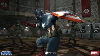 Анонс игры Captain America: Super Soldier + скриншоты