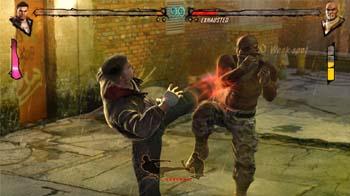 Видео файтинга для Kinect Fighters Uncaged