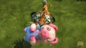 Скриншоты проекта Kinectimals
