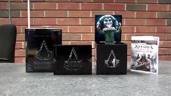 Видео: Что внутри Assassin's Creed: Brotherhood Collector's Edition?