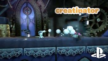 Новое оружие в LittleBigPlanet 2 - The Creatinator