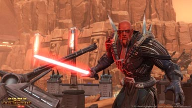 Скриншоты Star Wars: The Old Republic и информация о бета-тесте