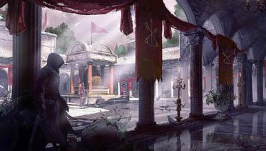 Четыре арта Assassin's Creed: Brotherhood