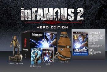 Официальная дата выхода inFamous 2 + бокс-арты