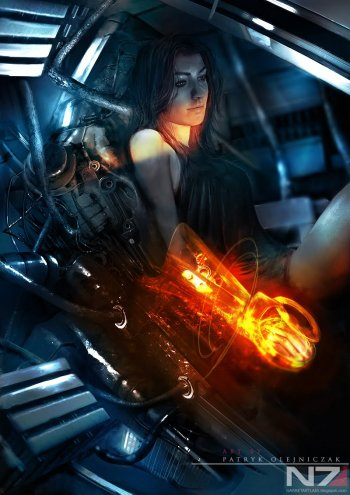 Четыре арта Mass Effect 3
