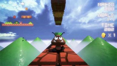 Видео: Super Mario Bros. от первого лица