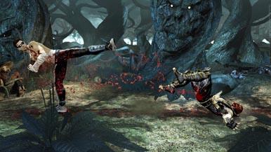 Mortal Kombat: Игровой процесс за Джонни Кейджа