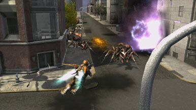 Два видео Earth Defense Force: Insect Armageddon