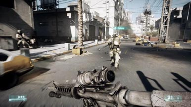 12-минутный трейлер Battlefield 3