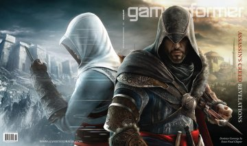 Assassin's Creed Revelations на обложке Game Informer + скриншот