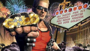 Duke Nukem Forever ушёл в печать + новое видео