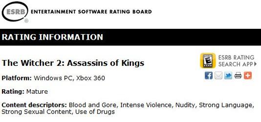 CD Projekt RED работает над новой игрой, среди платформ The Witcher 2 появился Xbox 360