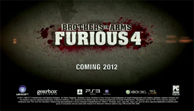 Анонс и дебютное видео Brothers In Arms: Furious 4