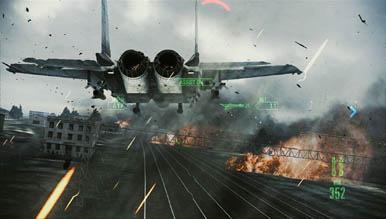 10 минут игрового процесса Ace Combat: Assault Horizon