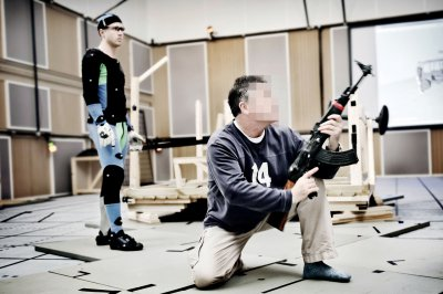 Battlefield 3: Фотографии со съёмки захвата движений