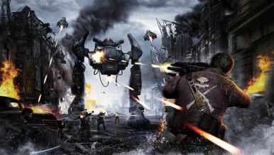 Два новых видео геймплея Resistance 3