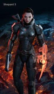 Mass Effect 3: Геймеры выбирают Шепарда женского пола (Голосование)