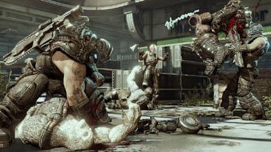 Резня в Gears of War 3: Пять против всех