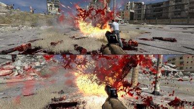 Serious Sam 3 с поддержкой режима сплит-скрин для 4 игроков