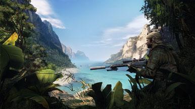 Геймплей Sniper: Ghost Warrior 2 с GamesCom 2011