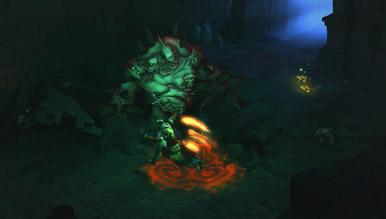 Diablo 3: Первые две минуты, монстры в подвале