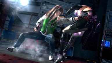 Дебютные скриншоты Dead or Alive 5 - Девушки на арене