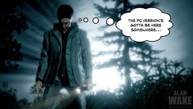 Официально: Alan Wake выйдет на PC в начале 2012 года