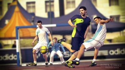 Скриншоты и трейлер предзаказа FIFA Street