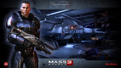 Продолжительность кат-сцен, новое видео и скриншоты Mass Effect 3
