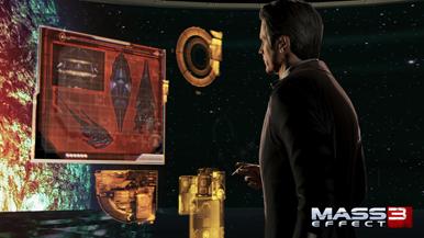В Mass Effect 3 есть несколько различных концовок