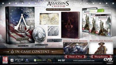 Assassin's Creed 3: Новые подробности + видео