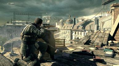 Подборка скриншотов Sniper Elite V2