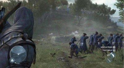 Два скриншота из Assassin's Creed 3 и трейлер о создании бокс-арта