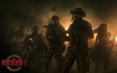 Wasteland 2 собрал на Kickstarter больше 2 миллионов долларов - разработчики публикуют первый арт