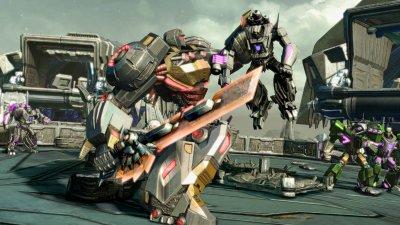 Grimlock - Новый трейлер и скриншоты Transformers: Fall of Cybertron