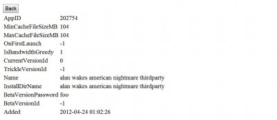 Упоминания Alan Wake: American Nightmare нашли в реестре Steam