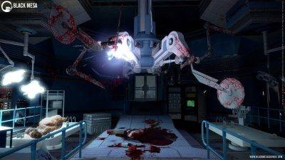 Свеженькие скриншоты Black Mesa: Source