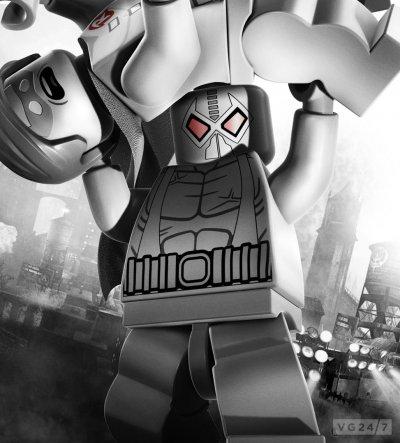 Это постеры LEGO Batman 2, выполненные в стиле Arkham City