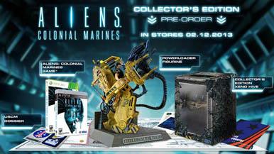 Состав коллекционного издания Aliens: Colonial Marines