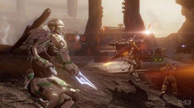 Эффектные скриншоты Halo 4