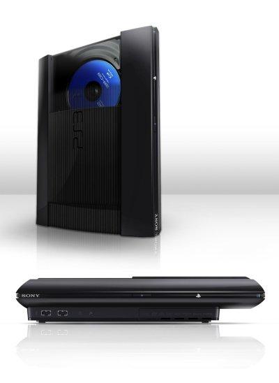 Фотографии новой видоизменённой PS3